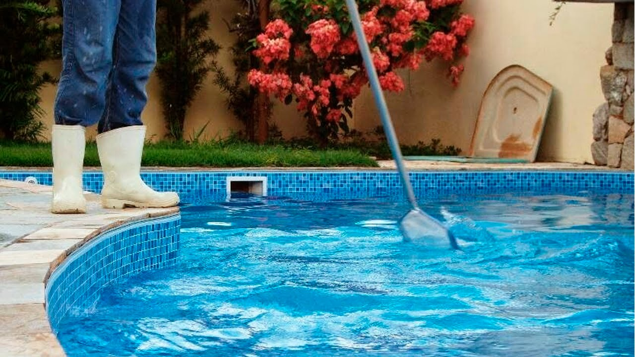 Limpador de piscina profissional com certificado