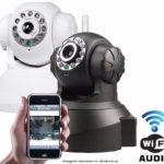 Cameras de segurança Ip Sem Fio Hd 720p 1.3 Mp