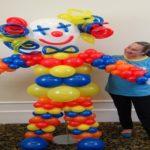 Aula Gratis decoração com balões festa de aniversario