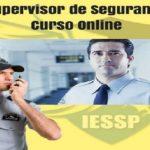 Supervisor de segurança operacional com certificado