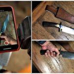 Cutelaria facas em aço curso nível avançado