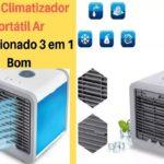 Climatizador portátil de ar bom barato e economico