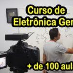 Curso de eletronica geral 160 aulas com certificado