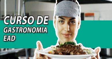 Curso de gastronomia EAD profissional completo online