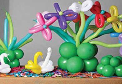 Decoração com balões curso começar do zero